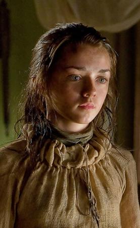 Arya e suas preces desde A Fúria dos Reis