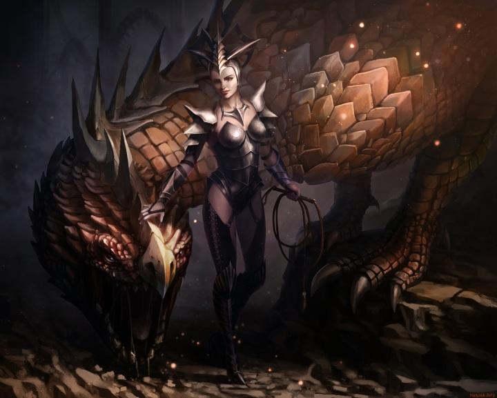 Rhaenyra e Syrax
