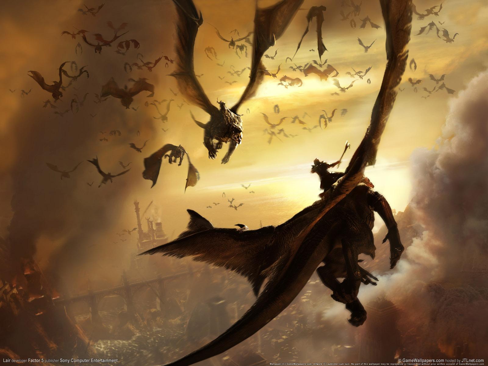As Crônicas de... Flying Fantasy Dragons