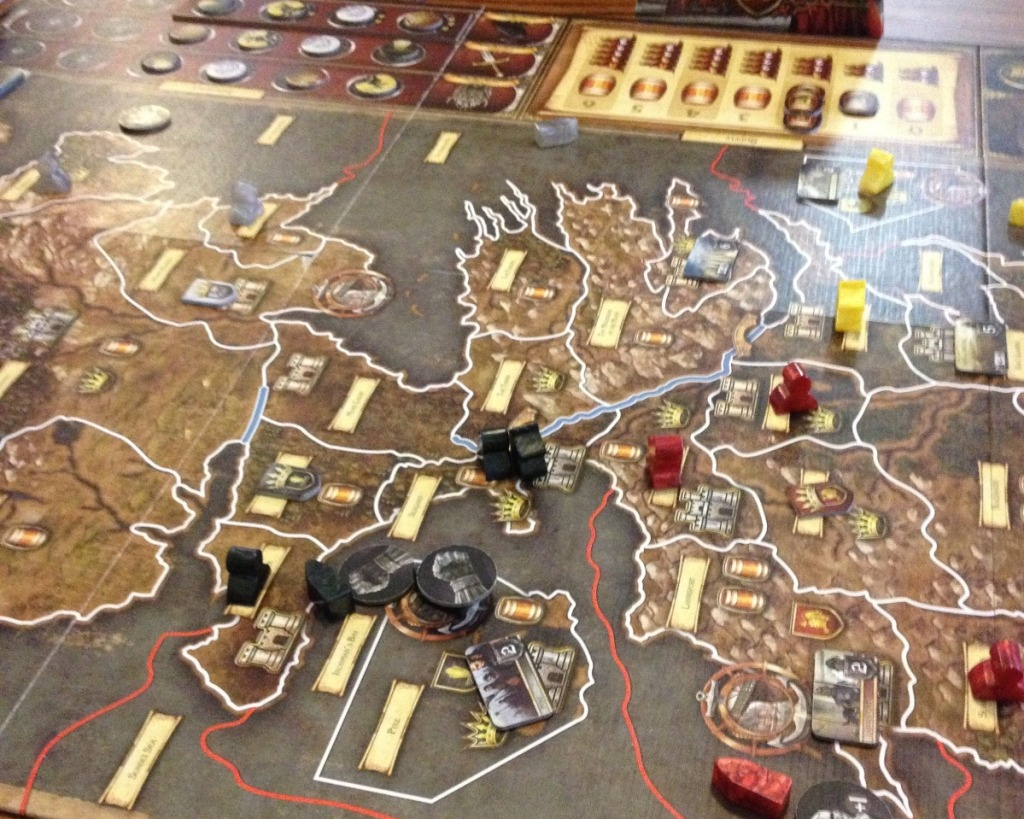 a game of thrones board game review starting
